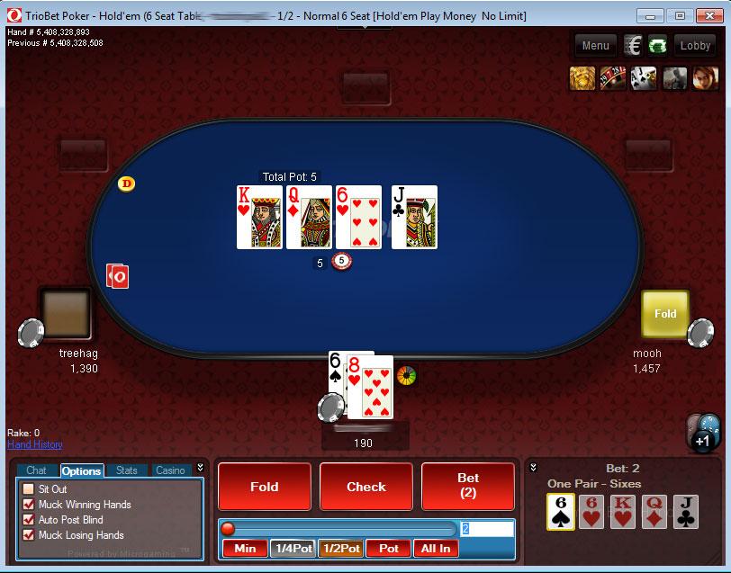poker triobet