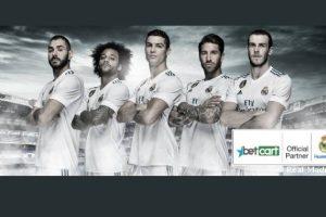 Betcart стал спонсором мадридского «Реала»