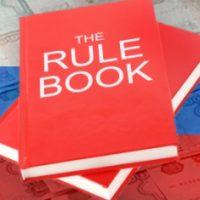 Правила игры в букмекерских конторах